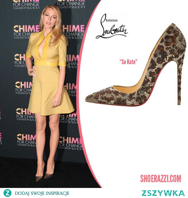 Blake Lively in Christian Louboutin