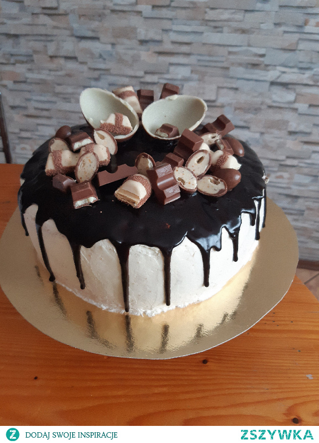 Tort Kinder #tort #kinderczekolada #wypieki