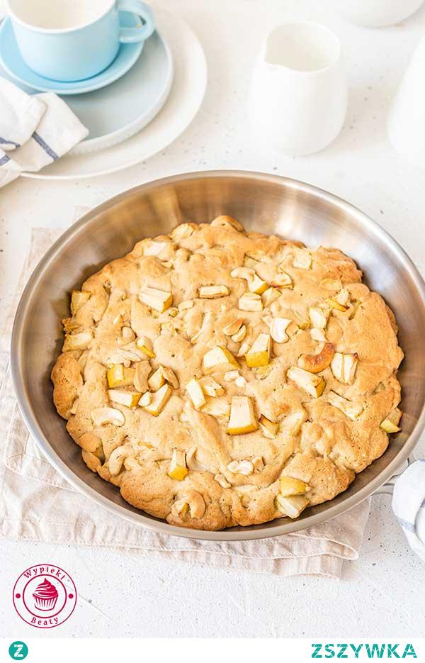 Jabłkowe ciastko z patelni - Najlepsze przepisy | Blog kulinarny - Wypieki Beaty