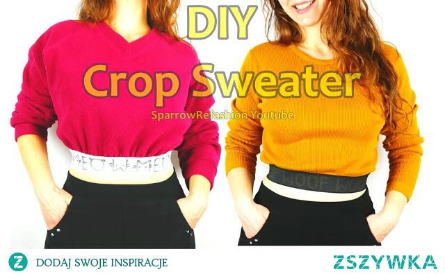 jak przerobić stary sweter w nowy modny diy