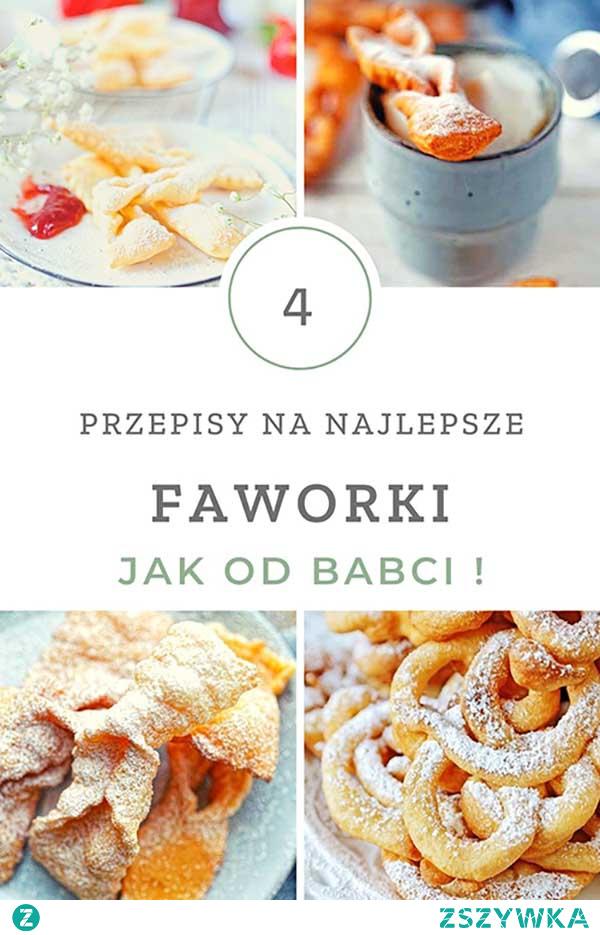 Przepisy na faworki - tradycyjne, pieczone, z mascarpone i lane