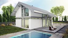 Gotowe domy mogą prezentować się niesamowicie nowocześnie lub swoim designem przypominac tradycyjne budownictwo - wszystko zależy od Ciebie!