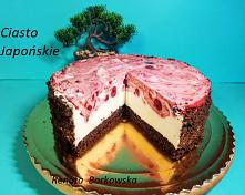 """Ciasto   """"Japońskie &q..."""