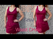 DIY |  Fitted Waist Dress  ...