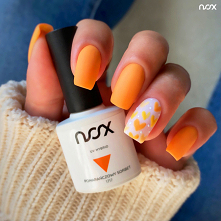 #nails #orange