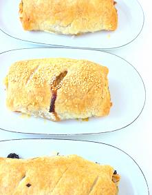 Roladki z ciasta francuskie...