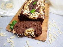 czekoladowy chlebek bananowy