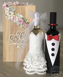 butelki na Ślub