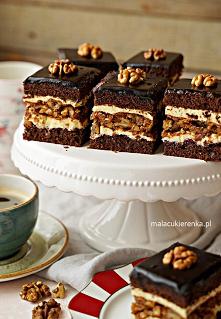 Ciasto orzechowe Marysieńka...