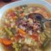 Zupa zimowa z kaszą gryczaną ze strony zakochanewzupach.pl (nie miałam fasolki i kalafiora, ale z warzywami na patelnię też bardzo dobrze smakuje ) #zupa#zima#porcjawarzyw#kasza