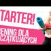STARTER 1 - łatwy trening dla POCZĄTKUJĄCYCH, BEZ KONDYCJI. Trening w domu | Codziennie Fit