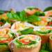 Wrapy gryczane z ricottą, pesto i warzywami. Przepis po kliknięciu w zdjęcie.
