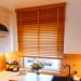 Żaluzja bambusowa w kolorze Słomkowym w kuchni naszej Klientki, Pani Olgi :)  Pomożemy Ci dobrać idealne żaluzje -->> Nasze Domowe Pielesze