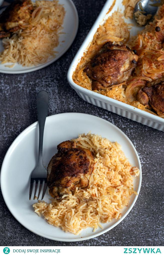 Udka z ryżem - z piekarnika