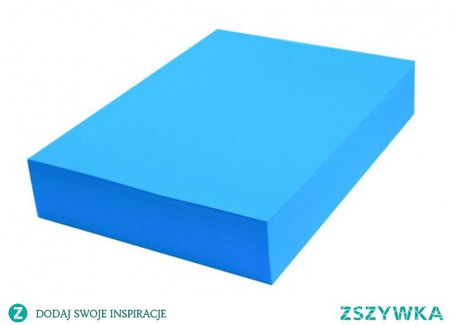 Papier kolorowy niebieski intensywny A4 100 ark 120g