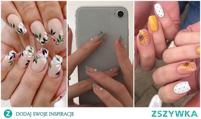 Pomysły na paznokcie wiosenne w 2021 roku!
