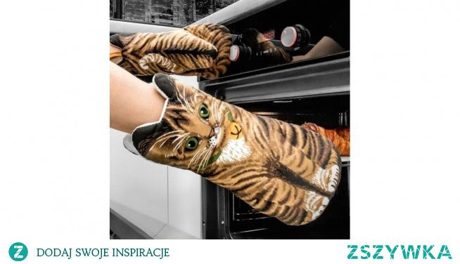 Rękawice kuchenne Koty