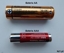 Czym różni się bateria AA od AAA? Kliknij i dowiedz się jaka jest różnica.