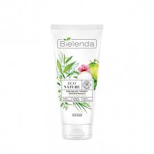 Peeling do twarzy ECO NATURE - Woda kokosowa + Zielona Herbata + Trawa Cytrynowa - peeling do twarzy detoksykujący