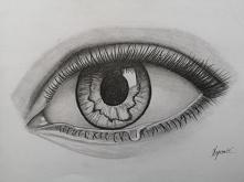 Bywało lepiej, ale jest rysunek oka ;-)