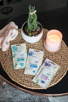 Maski na tkaninie Soraya ze składnikami naturalnymi.