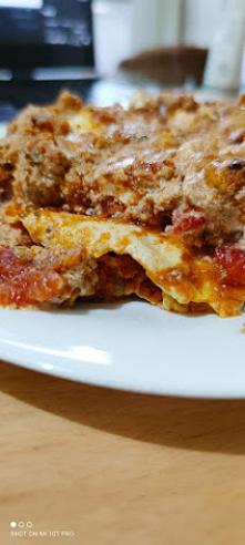 Lasagna trochę inna bo z makaronem jajecznym i fetą
