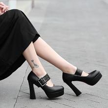 Moda Czarne Zużycie ulicy K...
