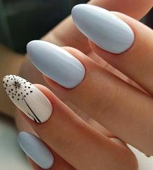 #nails #babyblue