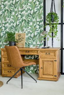 Drewniane biurko, taoletka,...