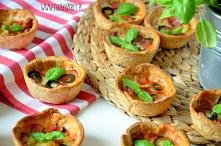 Muffinki pizza - przekąska