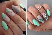 Miętowy manicure to nieodłą...