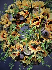 dekoracyjne wianki kwiatowe...