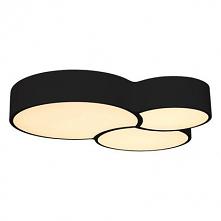 Plafon, lampa sufitowa Dots 64W 3000K 3840lm plafon czarny 3675