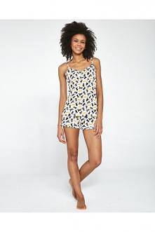 Damska piżama na lato w kot...