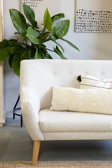 Pikowany fotel do salonu, p...