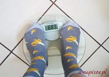 Moja waga na początku 11 tury diety ONZ...