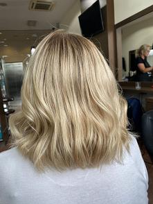 Blond koloryzacja