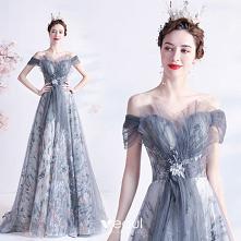 Vintage Szary Sukienki Na B...