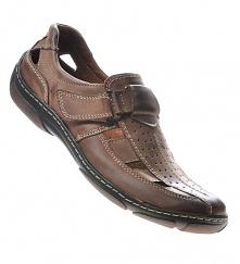 Skórzane buty męskie- Panto...