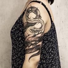 Tatuaż wykonany przez Mariu...