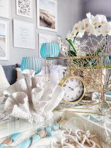 dekoracja stolika koralowiec