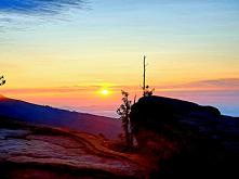 Wschód słońca na Malinowski...