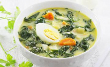 Zupa porowa z warzywami