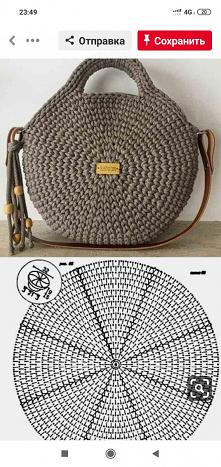 Okrągła torebka