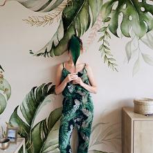 #Fototapeta zielone liście#...