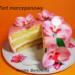 Tort   z  masą   marcepanową