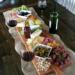 Mmm . #deska #przekaska #wino