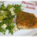 Pieczony filet łososia