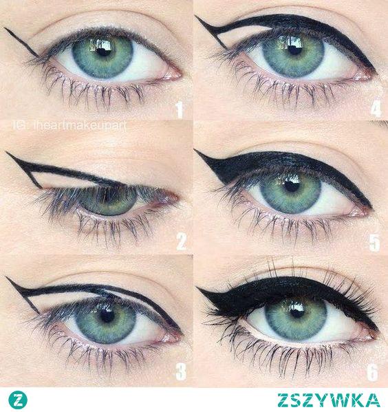 #eyeliner#make up#oczy