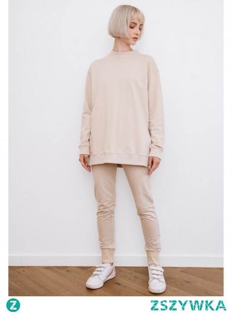 Komplet dresowy z długą bluza różne kolory.